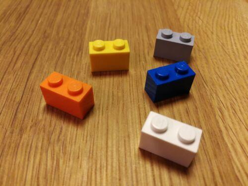560x Steine Bausteine hoch 1x4 versch Farben bspw. grau/gelb Lego 3004