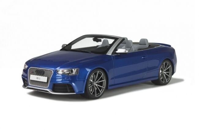 AUDI rs5 RS 5 a5 Decappottabile Blu blu v8 4.2 2015 GT Spirit resin NUOVO NEW 1:18
