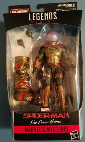 Marvel Legends Mysterio Far From Home Molten Man BAF