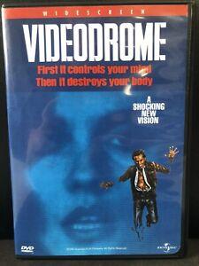 Videodrome-DVD-1998-Widescreen-Bilingual-Horror-David-Cronenberg