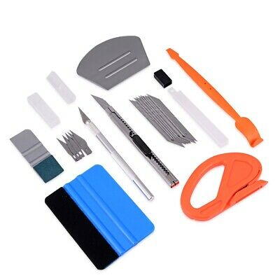 Craft Squeegee Plastic Rubber Handheld Smoothe Down Tool Car Small Decals NEW