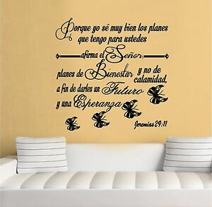 Wall Decal Inspirational Wall Decal Christian Decor Biblia - Wall decals christian