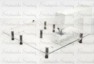 Custom Extension Made Table JanomeNecchiPfaffSingerEtc24 About New For X Details dBroeWCx