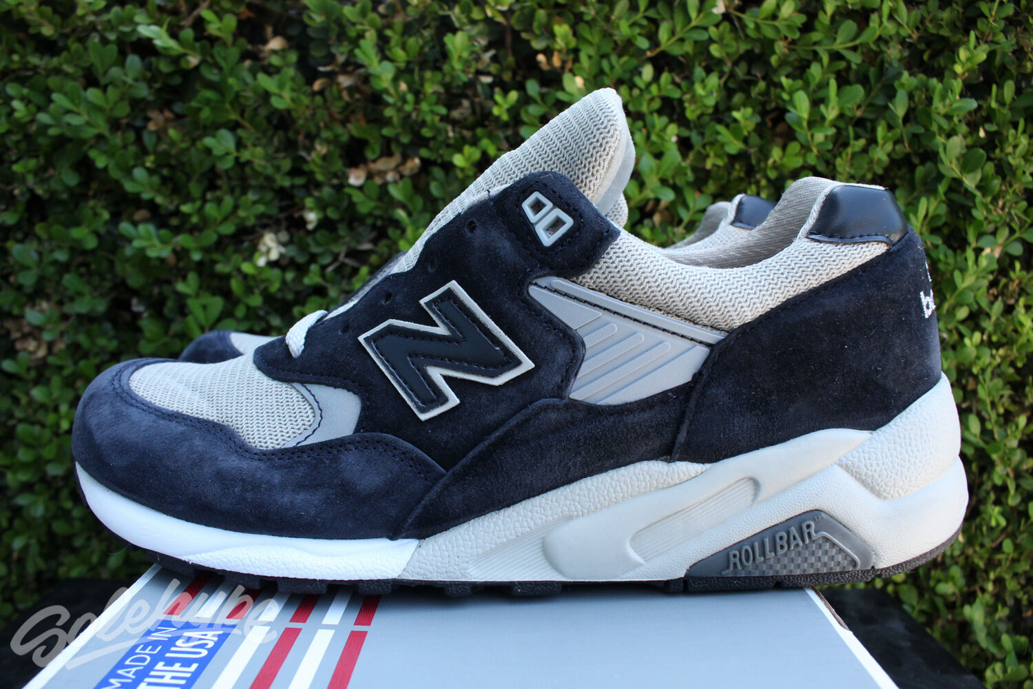 NEW BALANCE 585 IN SZ 12 BRINGBACK MADE IN 585  A NAVY GREY M585BG 454c38