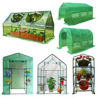 Peaktop Greenhouse Outdoor Walk In / Mini Garden Green Hot House Full Closed