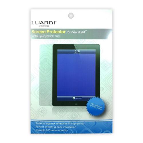 Lot of 5 Luardi Clear Screen Protector for Apple iPad 2,3,4