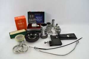 Camera-Accessories-Lot-Tiffen-Bell-Howell-Agfa-Masmy-Berthiot-Elgeet-Vtg-Resell