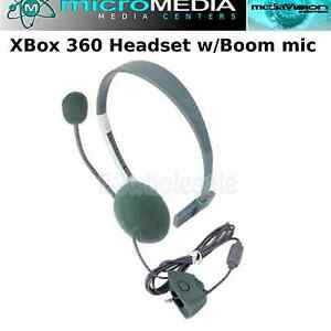MediaVisionGAME- LIVE Headset w/ MIC For XBOX 360- WIRELESS CONTROLLER- NEW