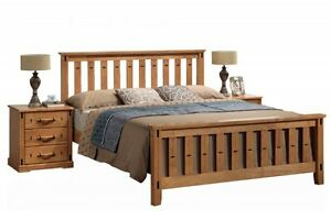 Sofia Traditional Shaker Style Wooden Bed Frame 4ft6 Double 5ft King