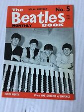 The Beatles Book Monthly No. 5 No.5 No5 December Dec 1963 Official Fan Magazine