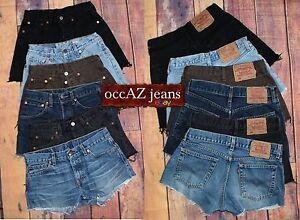 8d0c953f94f1 Vintage Levis Shorts Jeans Size W 25 26 27 28 29 30 31 32 33 34 36 ...
