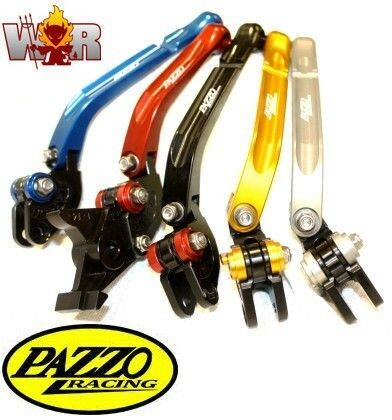 Ducati 1098/1198 07-11 PAZZO RACING FOLDING Lever Set ANY Color & Length Combo