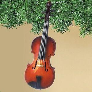 Christmas Violin.Details About Violin Christmas Tree Ornament