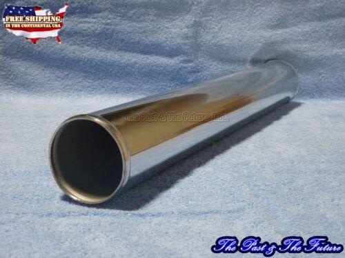 "Aluminum Universal Intercooler Air Intake Pipe 3.0"" 76mm 24/"" Straight 1PC 3024ST"