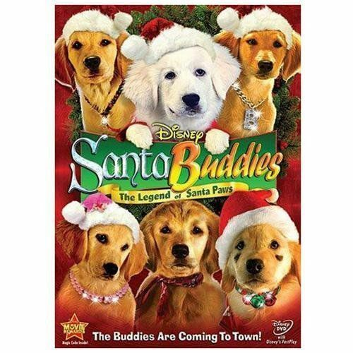 Disney Santa Buddies The Legend of Santa Paws DVD 2009