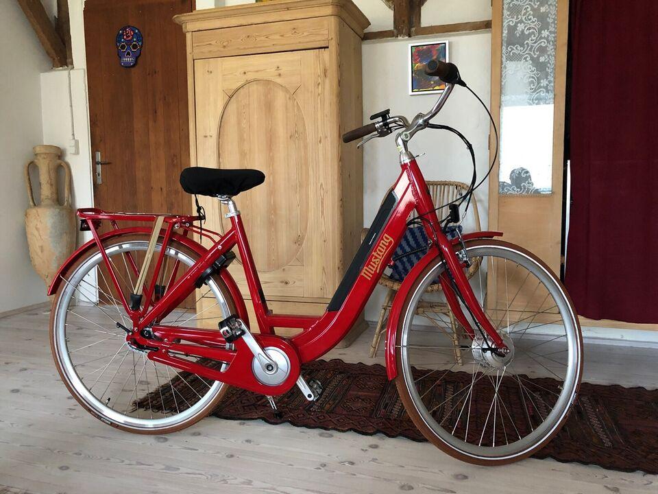 Dame elcykel - som ny
