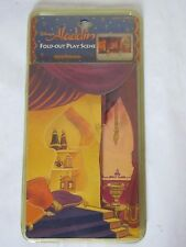 Vintage 90s Disney Aladdin Fold Out Play Scene Applause Trifold Factory Sealed