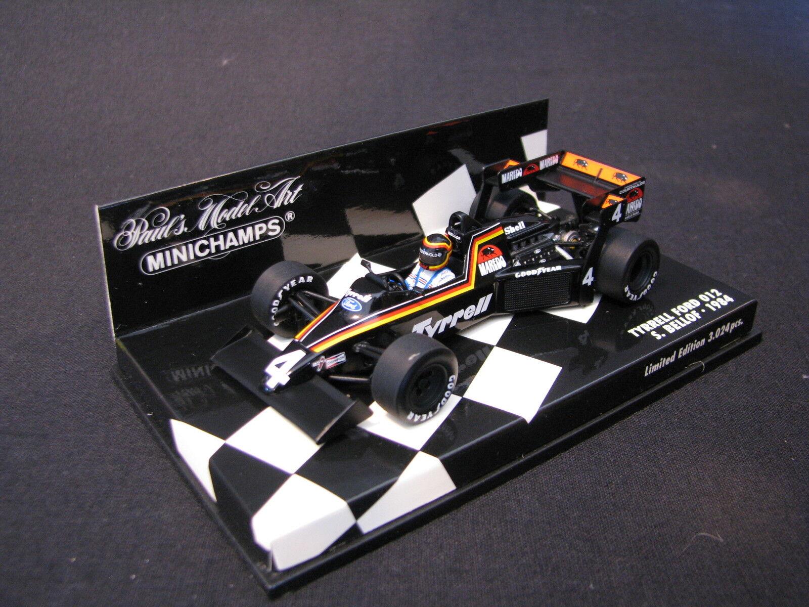 Minichamps Tyrrell Ford 012 1984 1 43 43 43 Stefan Bellof (GER) (LS) b1d914