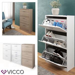 comprar bien como comprar venta caliente real Detalles de VICCO armario para zapatos Gizmo 3 compartimentos - estante  basculante 3 colores