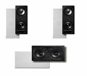 Polk-Audio-265-LS-255C-LS-1-Vanishing-Series-3-0-High-Performance-In-Wall-New