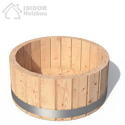 ISIDOR Badezuber Zubehör Fußbad Minizuber Fußzuber Kübel Pooldusche Fusswanne