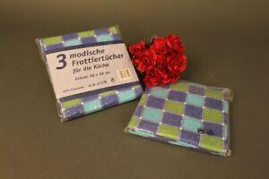 Frottiertuecher-46x68-cm-Geschirrtuch-Kueche-Kariert-6-Stueck-Kuechentuch-Baumwolle