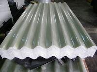 GRP 6ft Clear Translucent Transparent Big 6 Fibre Cement Profile Roofing Sheets
