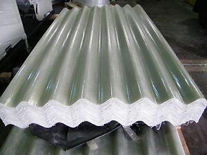 Grp 6ft Clear Translucent Transparent Big 6 Fibre Cement