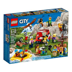 Lego City Outdoor Adventures Camping Pack 164 Piece Build Set with 17 Figures