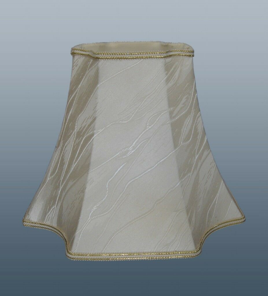 QUADRATO QUADRATO QUADRATO scolloped morbide tonalità crema ICEBERG Completamente Foderato 10e481
