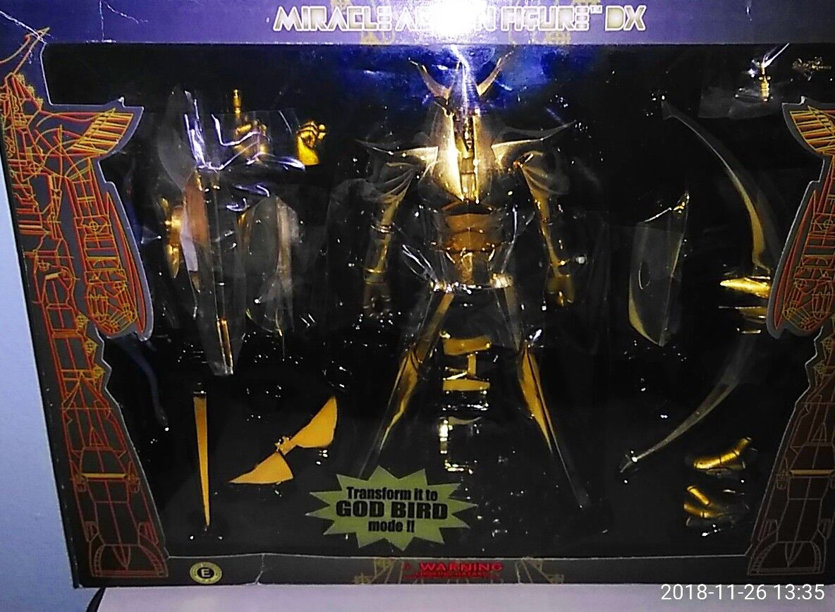 Miracle Action Figure DX - Reideen the brave oro Version .