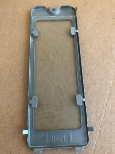 Details about  /GE OVER RANGE MICROWAVE COOKTOP LAMP LENS /& COVER WB06X10136 /& WB36X10071