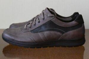 Hiker Men's Gray Leather Shoes Sz 10.5