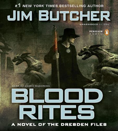 Blood Rites (The Dresden Files) by Butcher, Jim
