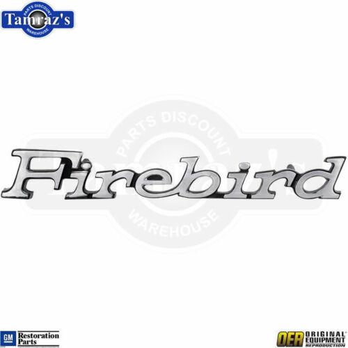 """1970 /"""" Firebird /"""" Front Fender Emblem Medalllion OER EACH"""