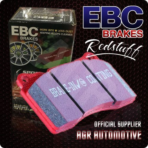 EBC REDSTUFF FRONT PADS DP3415C FOR FORD ESCORT MK3 1.6 XR3I 82-85