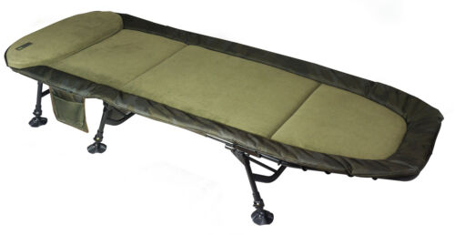 Sonik SK-Tek Compact Fishing LevelbedBed Chair For Smaller Bivvies Saves Room
