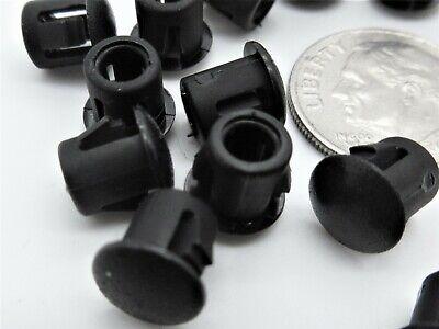 """100 Plug Pack Dome Plugs Blanking Plug 3//4/"""" Panel Plugs Locking Hole Plugs"""