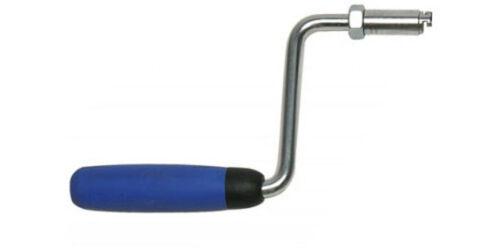 Handkurbel für 16mm Rohrreinigungsspiralen mit T-Nut wie ROTHENBERGER@ /& ROWO®