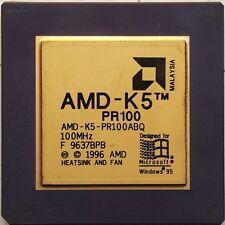 AMD AMD-K5-PR100ABR AMD K5 PR100. 100MHz socket 7 CPU. AMD-K5-PR100ABR