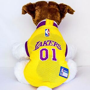 f887fcbe64a ... Image is loading Los-Angeles-Lakers-Dog-Jersey-NBA-Basketball ...