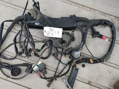 BMW E36 1996 Z3 Engine WIRING HARNESS M44 obd2 1.9L 5 SPEED Computer ecu  MANUAL | eBayeBay