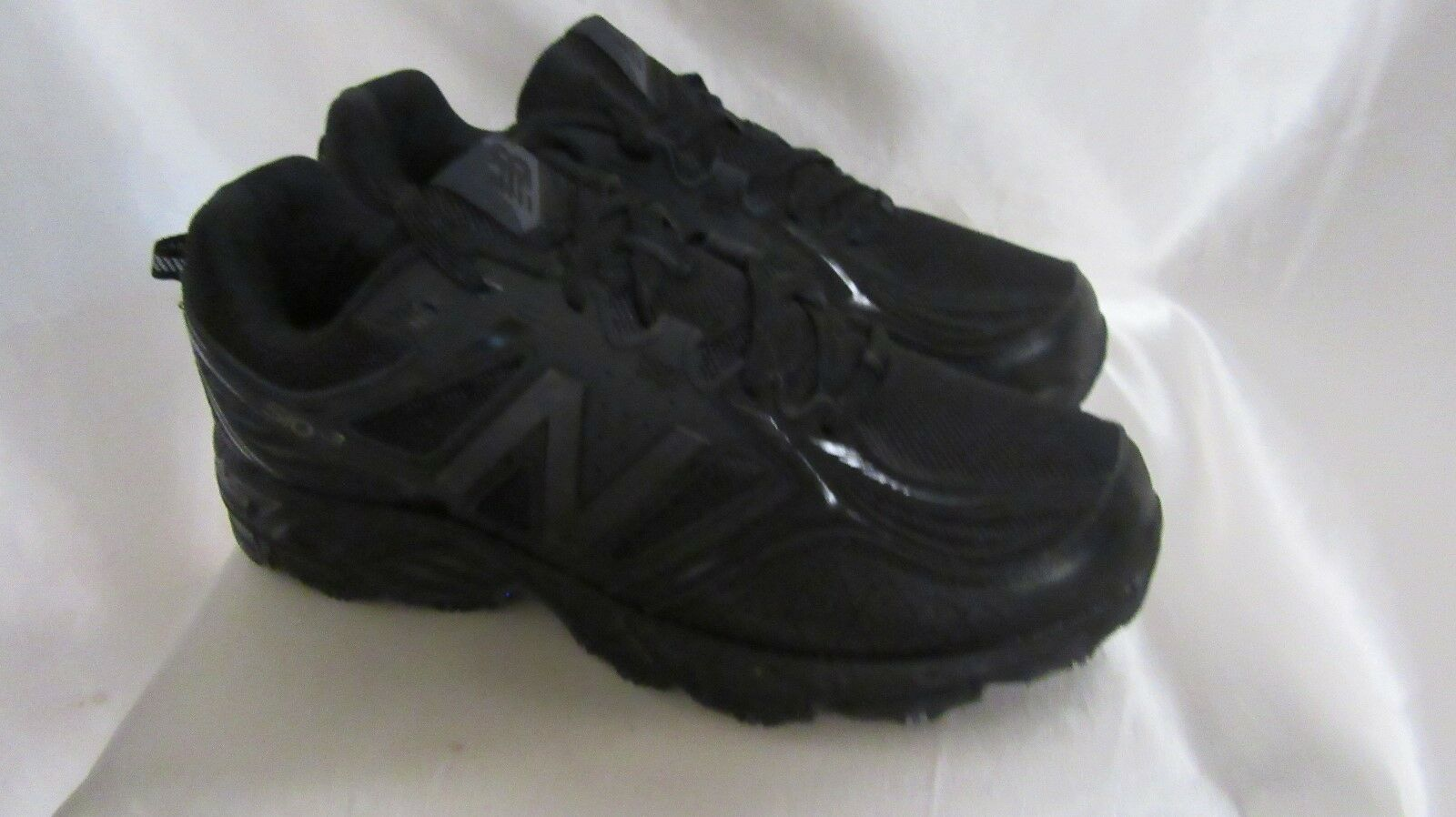 MEN`S NEW BALANCE ATHLETIC SNEAKERS SIZE 10 XWIDE (4E) NEW #MT510CB3 BLK