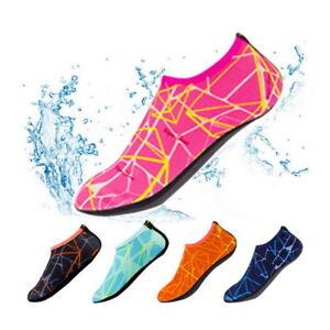 Water-Shoes-Slip-on-Aqua-Socks-Yoga-Men-Women-Exercise-Pool-Swim-Surf-Beach-AU-N