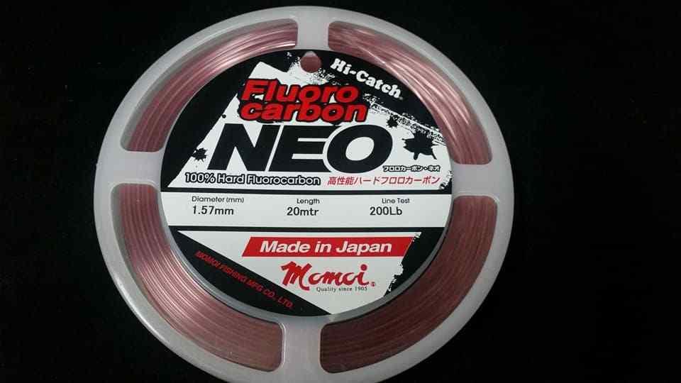 Momoi Hi-Catch NEO Pink 200lb  Flurocarbon Leader fluro carbon made in japan