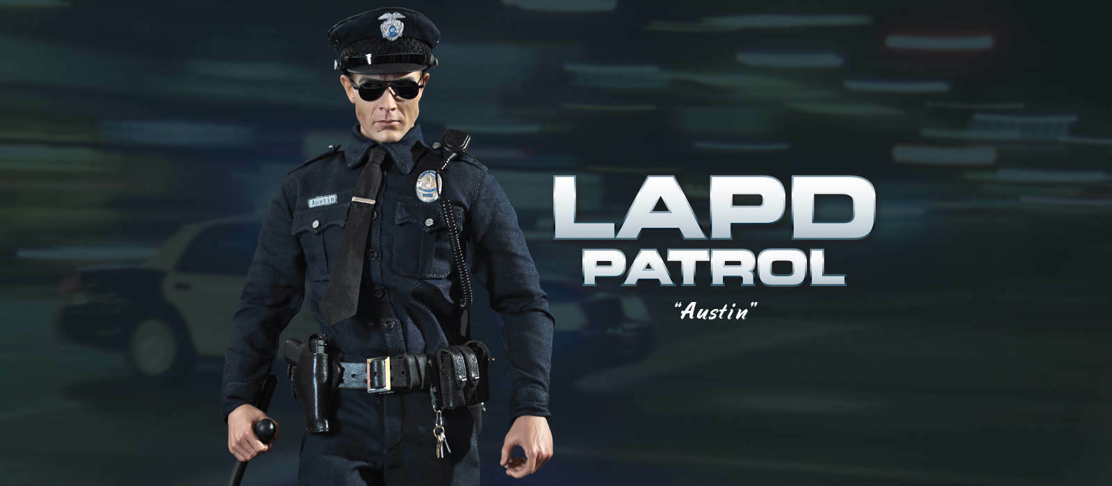 Did action police figure 1 6 12'' lapd patrol terminator dragon hot toys modern