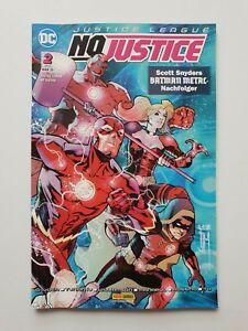 DC JUSTICE LEAGUE : NO JUSTICE 2 von 2  3/2019 Neu