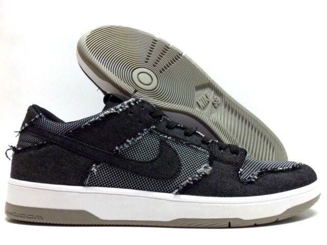 buy online d1995 fbde1 Nike SB Zoom Dunk Low Elite QS Medicom Bearbrick Black Denim Sz 12  877063-002
