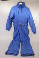 Bogner Blue & Black valdez One Piece Snow/ski/winter Suit, Womens Sz 12-35