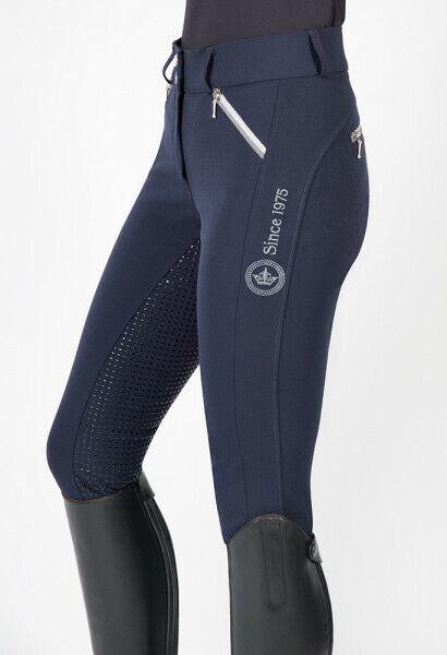 Pfiff Pantaloni Equitazione Kelsey mujer Calzoni Pieno Silicon Grip 44